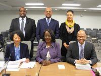 March 21, 2017 OPC's legal team at Public Service Commission hearing on a Pepco rate case